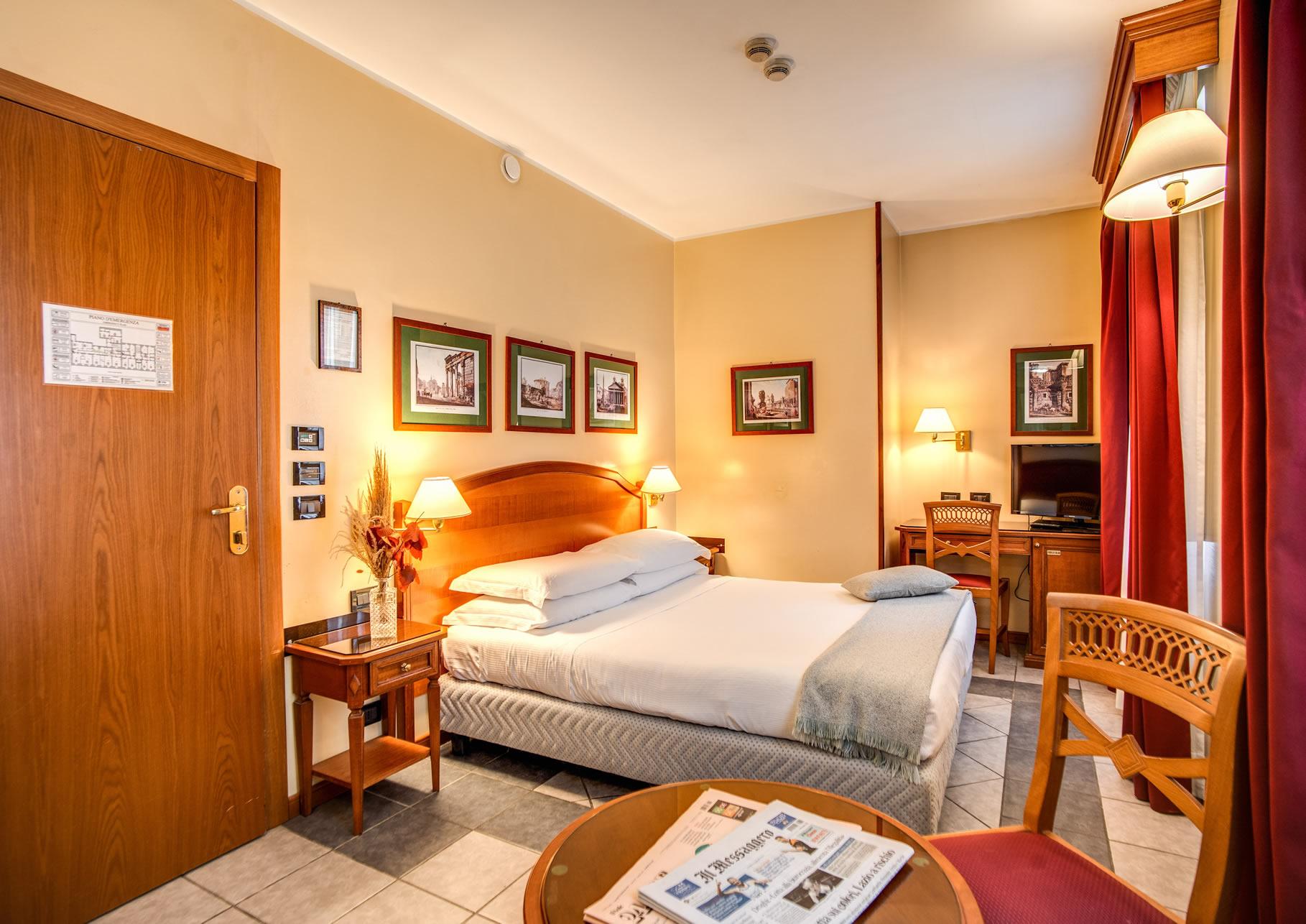 hotel milani rom offizieller internetauftritt preiswertes hotel in rom. Black Bedroom Furniture Sets. Home Design Ideas